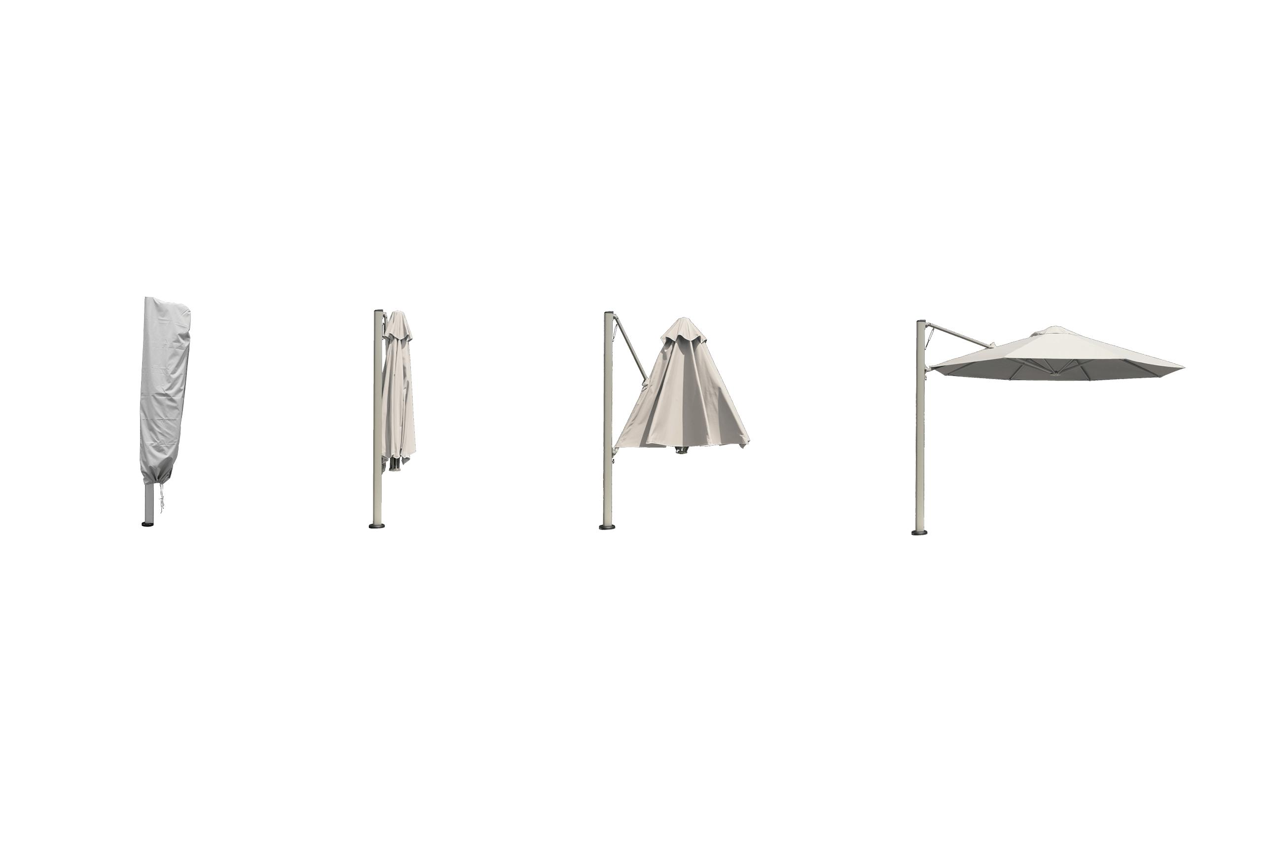Rotating Cantilever Umbrella