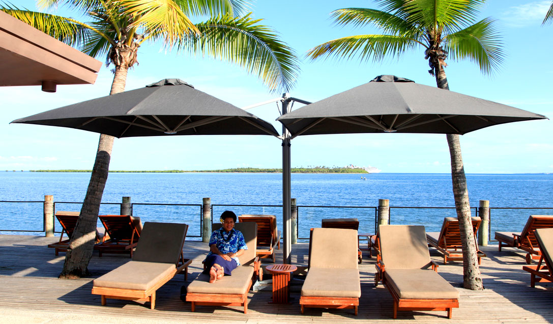 The Hilton Fiji lights up their guest experience